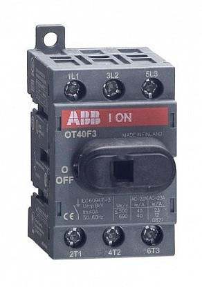 Рубильник OT40F3
