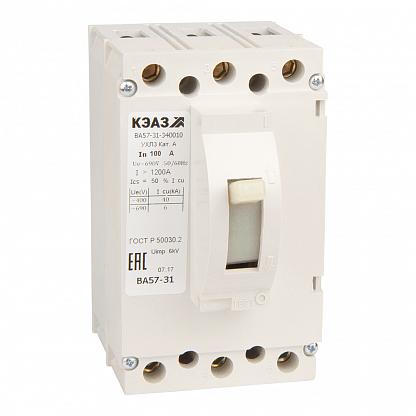 Выключатель ВА57-31-340010-100А-1200-690AC-УХЛ3