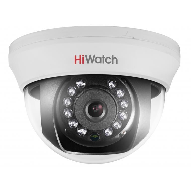 Видеокамера HD-TVI 2Мп уличная купольная с ИК