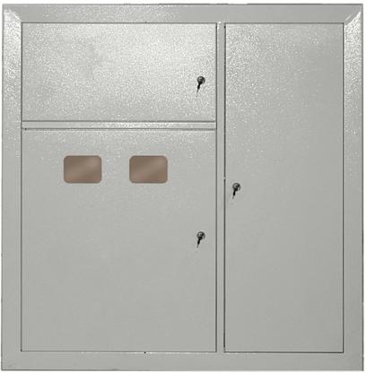 Щит этажный двухквартирный ЩЭ.2 IP31 металлический УХЛ3
