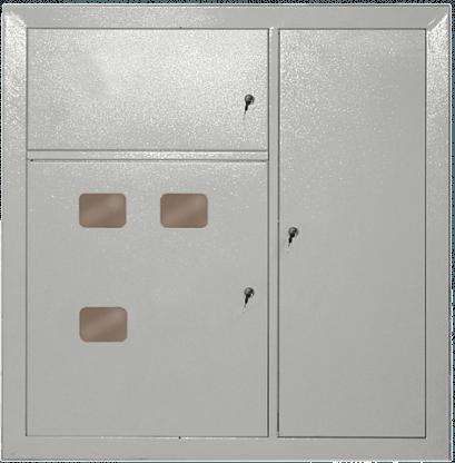 Щит этажный трехквартирный ЩЭ.3 IP31 металлический УХЛ3