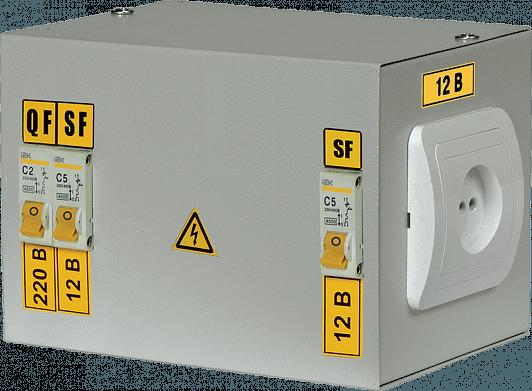 Ящик ЯТП-220/36/0.25 IP30 с автоматами УХЛ4 с понижающим трансформатором
